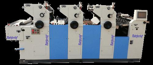 3 Colors Bag Printing Machine