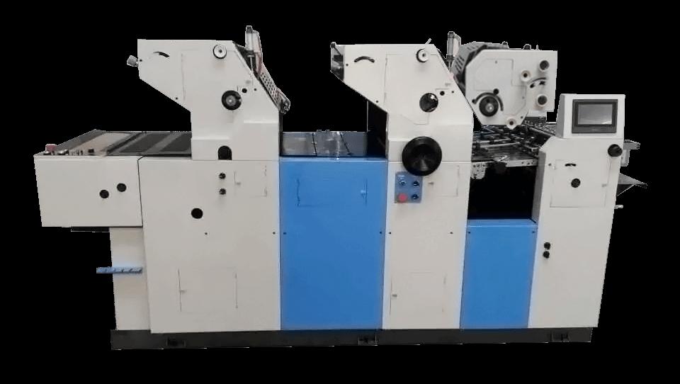 3 Colors Satellite Bag Printing Machine