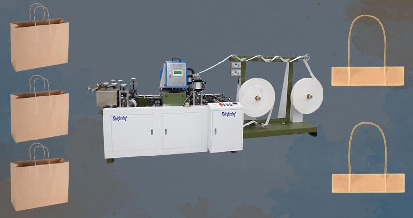 Paper handle making machine manufacturer
